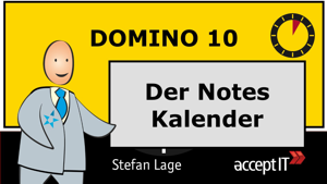 5minuten domino 10 der Notes Kalender